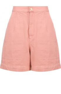 Джинсовые мини-шорты с завышенной талией Isabel Marant