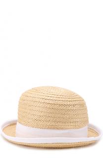 Шляпа с лентой Armani Collezioni