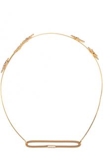Повязка для волос Venus Circlet с кристаллами Jennifer Behr