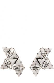 Серьги с камнями и кристаллами Anton Heunis