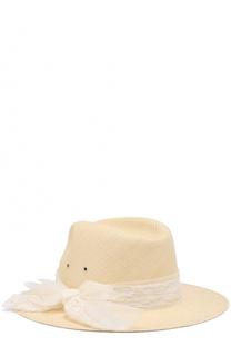 Соломенная шляпа Henrietta Maison Michel