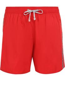 Плавки-шорты с контрастной отделкой Emporio Armani