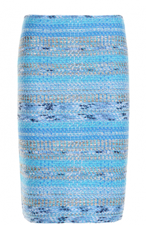 Буклированная юбка-карандаш St. John