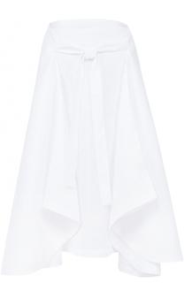 Льняная юбка асимметричного кроя Lisa Marie Fernandez