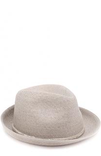 Шляпа с отделкой из бисера Eugenia Kim