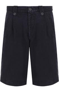 Льняные шорты с карманами Giorgio Armani