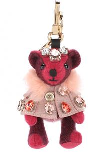 Брелок Thomas Bear в накидке с кристаллами Burberry