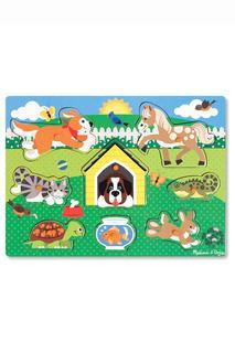 """Пазл """"Домашние животные"""" Melissa & Doug"""
