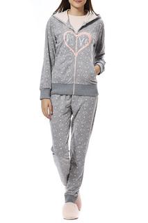 Пижама с брюками тройка Relax Mode