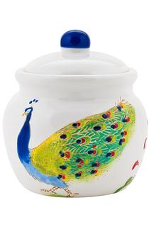 "Сахарница ""Павлин"" ELFF ceramics"