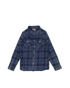 Джинсовая рубашка Levis Kidswear