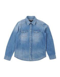 Джинсовая рубашка Hydrogen Sportswear