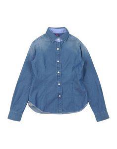 Джинсовая рубашка Jacob CohЁn Junior