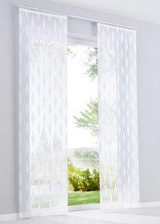 Японская штора Нела (1 шт.), Шина с лентой велкро (белый) Bonprix