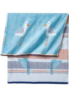 Полотенце для рук Чайка (синий) Bonprix