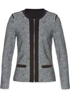 Пиджак (серый/черный меланж) Bonprix