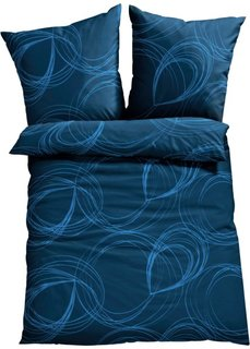 Постельное белье Габо, поликоттон (синий) Bonprix