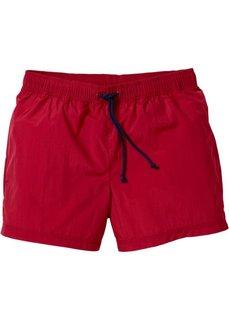 Купальные плавки-шорты Regular Fit (темно-красный) Bonprix