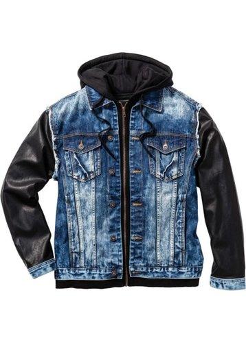 Джинсовая куртка Regular Fit (синий «потертый»)