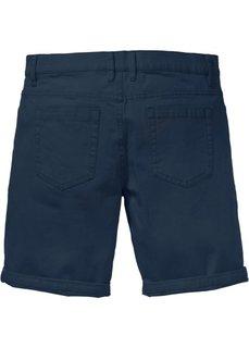 Бермуды-стретч Regular Fit (темно-синий) Bonprix