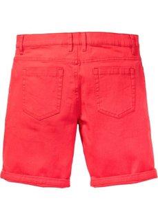 Бермуды-стретч Regular Fit (красный) Bonprix