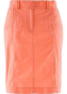 Узкая юбка стретч (коралловый) Bonprix