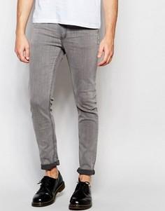 Облегающие серые джинсы Cheap Monday - Серый