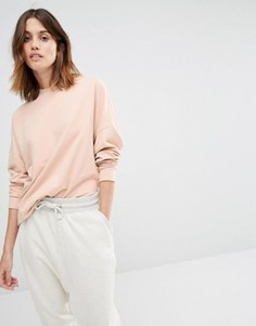 Oversize-свитер Vila - Розовый