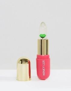 Бальзам, проявляющий цвет в зависимости от уровня pH кожи губ, с зеленым цветком Winky Lux - Прозрачный