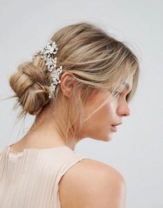 Заколки для волос с камнями New Look - Серебряный