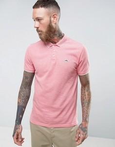 Поло из хлопкового пике Le Shark - Розовый