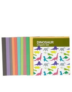 Набор для оригами Динозавр - Белый NPW