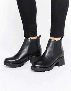 Массивные кожаные ботинки челси ALDO Manuan - Черный