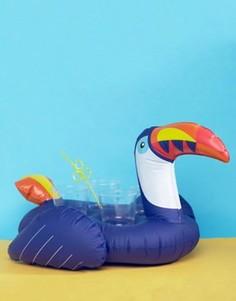 Надувной держатель для напитков в виде тукана Sunnylife - Мульти