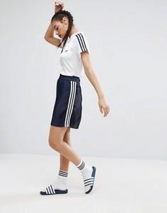 Юбка плиссе adidas Originals Adicolor - Синий