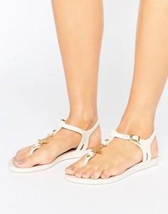 Шлепанцы Vivienne Westwood For Melissa Solar - Белый