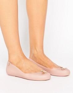 Туфли с логотипом-орбитой Vivienne Westwood For Melissa Space Love - Бежевый