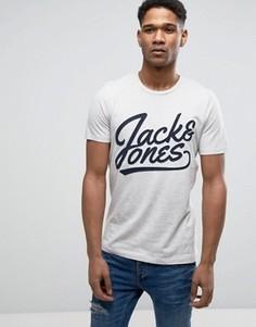 Футболка с вышивкой Jack & Jones Originals - Белый