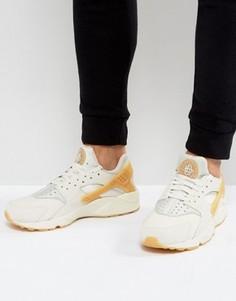 Серые кроссовки-премиум Nike Huarache Run 852628-004 - Серый