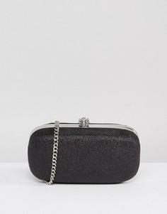 Овальный клатч-футляр Carvela - Черный