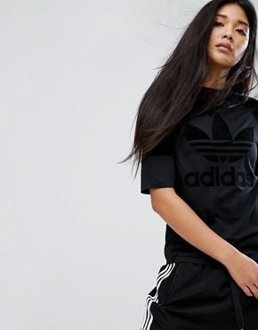 Футболка adidas - Черный