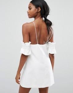 Платье мини C/meo Collective Double Take - Белый