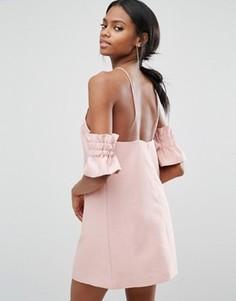 Платье мини C/meo Collective Double Take - Розовый