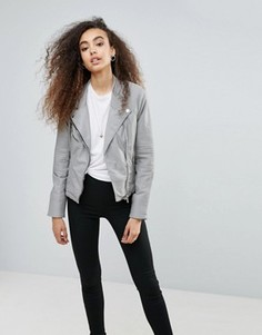 Куртка из искусственной кожи Blank NYC Steal Your Thunder - Серый