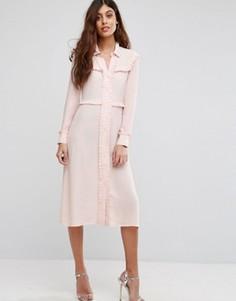 Платье-рубашка Little White Lies - Розовый