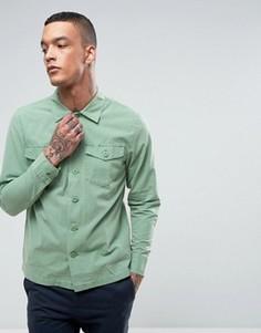 Рубашка в стиле милитари Stussy - Зеленый