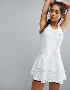 Теннисное платье adidas x Stella - Белый
