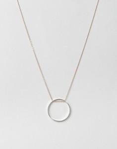 Длинное ожерелье с кольцом Orelia - Золотой