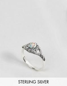 Серебряное кольцо с искусственным опалом Regal Rose Kaya - Серебряный