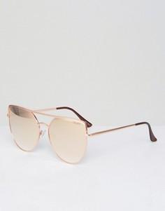 Солнцезащитные очки Quay Australia Santa Fe - Золотой